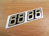Autocollant de carters pour Motobecane / MBK 88, 89, 881, 881M