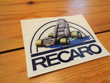 Autocollant Recaro 1985