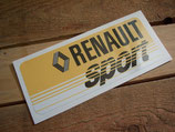 "Autocollant ""Renault sport"" 70 / 80."