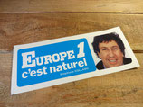 "Autocollant ""Europe 1 c'est naturel - Stephane Collaro"""