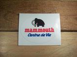 "Autocollant ""Mammouth Centre de vie"""