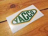 """Autocollant """"YACCO"""" ...l'huile des records du monde"""