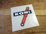 "Autocollant ""Koni"" rallye sport competition"
