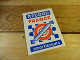 "Autocollant ""Record France Amortisseurs"""