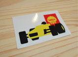 "Autocollant ""F1 Shell"" (années 60)"