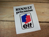Autocollants compartiment moteur Renault
