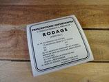 """Autocollant """"RODAGE"""" pour Vespa 125cm3 & 150cm3 Type N"""