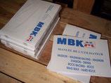 Manuel utilisateur MBK 51 Swing / Rock / Hard rock / Rock racing / Mag Max / Magnum racing / Passion / Evasion