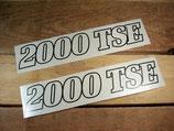 "Autocollants deco ""2000 TSE"" Renault Espace phase 1"