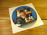 "Autocollant ""Camion R380 Turbo"" Renault"