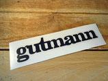 """Lettrage autocollant """"Gutmann"""" Peugeot"""