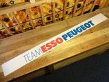 """Pare-soleil """"Team Esso Peugeot"""""""