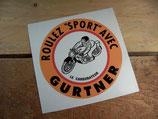 """Autocollant """"Roulez sport avec GURTNER"""""""