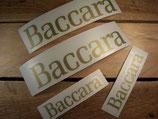 Kit deco 4 autocollants Renault Super 5 Baccara