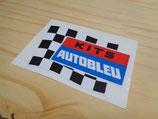 """Autocollant """"Kits Autobleu"""" (années 60/70)"""