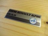 """Autocollant """"Assistance centre Renault Alpine"""""""