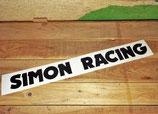 "Lettrage autocollant ""Simon racing"""