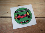 "Autocollant ""Circuit Nurburgring"""
