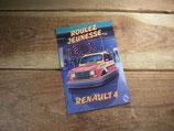 Autocollants publicitaires Renault 4