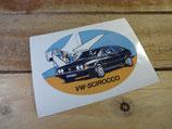 """Autocollant """"VW Scirocco"""""""