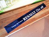 """Bandeau pare-soleil """"Coupe de France Renault Clio Elf"""" bleu"""