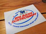 """Autocollant """"Big Bang Schtroumpf"""" de 1989 / 90"""