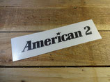 "Autocollant ""American / American 2"" pour Renault 18"