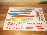 Kit déco pour Peugeot 106 rallye phase 2