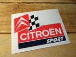 """Autocollant """"Citroën Sport"""" années 2000"""