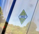 """Autocollants """"Années logo Renault"""""""