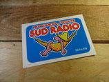 """Autocollant """"En vacances, j'écoute SUD RADIO"""""""