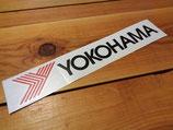 "Autocollant lettrage + logo ""YOKOHAMA"""