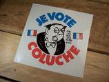 """Autocollant """"JE VOTE COLUCHE"""""""