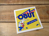 """Autocollant """"Obut 1er en pétanque"""""""