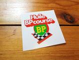 Autocollant Huile BP course - Années 70