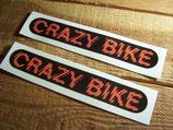 "Autocollants ""Crazy bike"""
