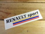 "Autocollant ""Renault sport"" 90 / 2000"