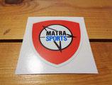 "Autocollant écusson logo ""Matra Sport"""