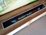 """Bandeau pare-soleil autocollant """"Peugeot Talbot sport"""""""