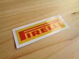 """Autocollant """"Pirelli"""" 12cm"""