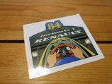 "Autocollant ""Renault F1 1984"""