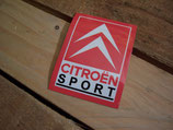 "Autocollant logo ""Citroen sport"""