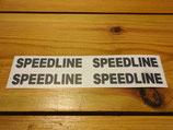 "Autocollants ""Speedline"" de jantes Speedline"
