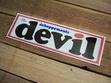"""Autocollant """"Echappements DEVIL"""""""