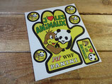 """Autocollants """"Main Pif - J'aime les animaux WWF"""""""