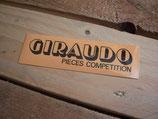 """Autocollant """"Giraudo Pièces competition"""" années 80"""