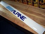 """Bandeau pare-soleil """"Alpine"""" 1989 - 1992"""