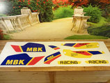 "Kit deco autocollant ""Rock racing"" jaune AM 1991-92"