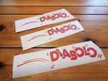 """Kit deco autocollants Peugeot 205 """"Diabolo"""""""