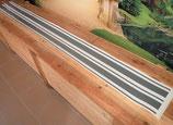 Bandes de bas de caisse pour Golf 1 GTI et 2 GTI / GTD millésime 84 gris moyen mat